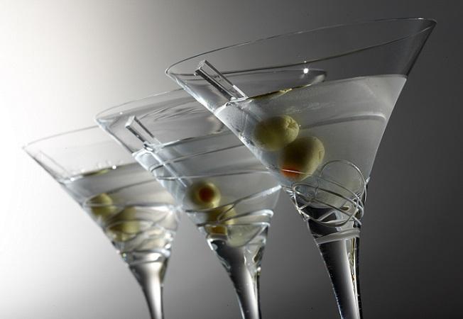 фото коктейля мартини драй