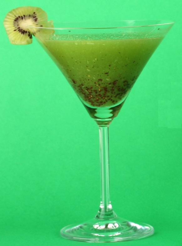 коктейль Зеленая миля фото
