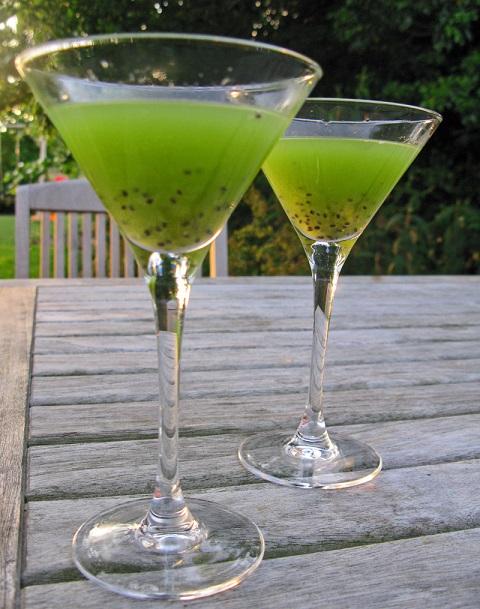 фото коктейля зеленая миля в домашних условиях
