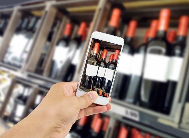 оценка вина в мобильном приложении