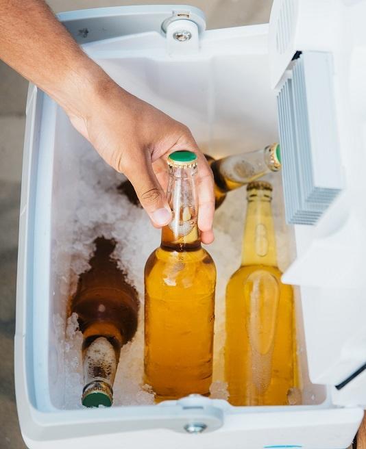 пиво замерзло в морозильнике