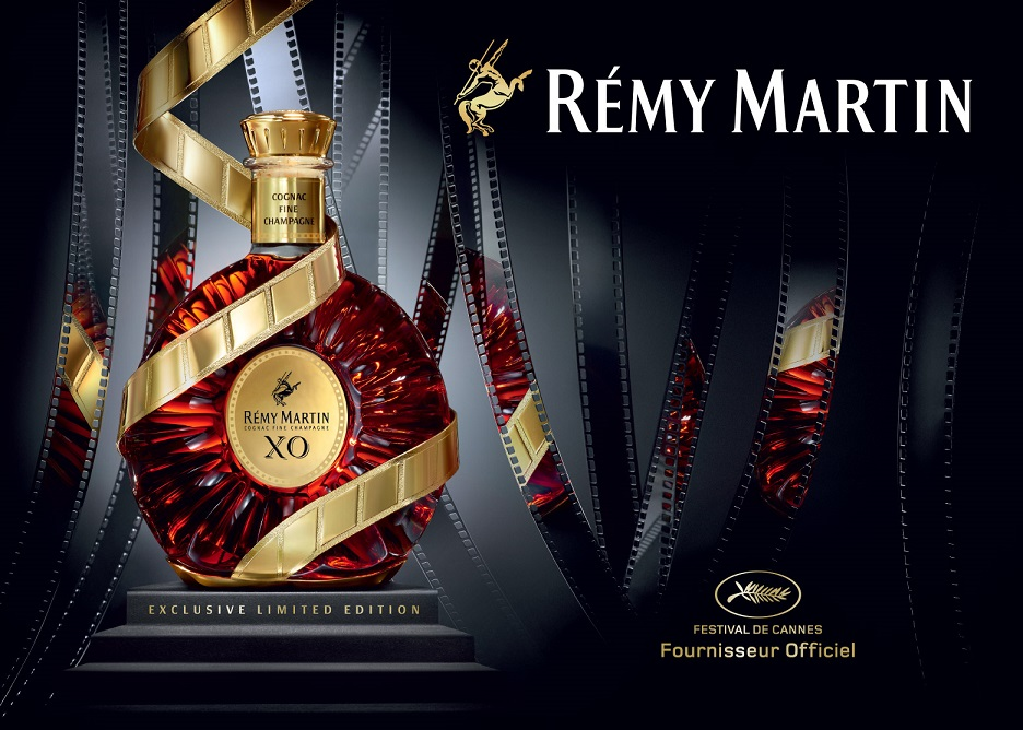 "фото коньяка Rémy Martin X.O. Limited Edition ""Festival de Cannes"""
