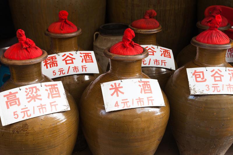 фото сосудов для выдержки китайской водки