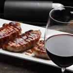 свинина в красном вине