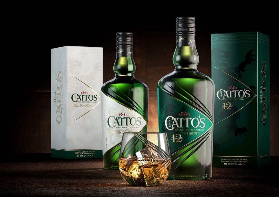 ассортимент виски каттос фото