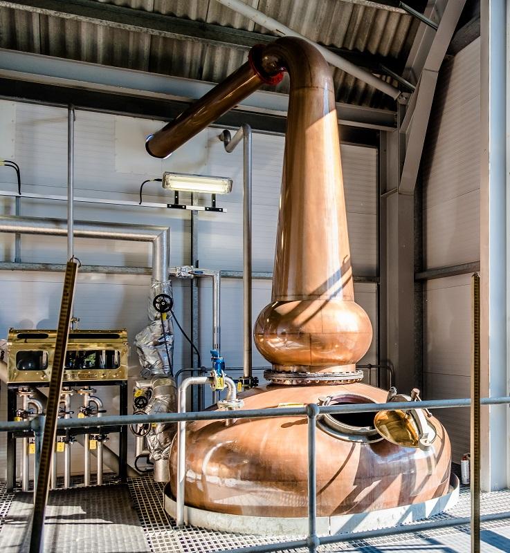 фото аламбика для производства виски