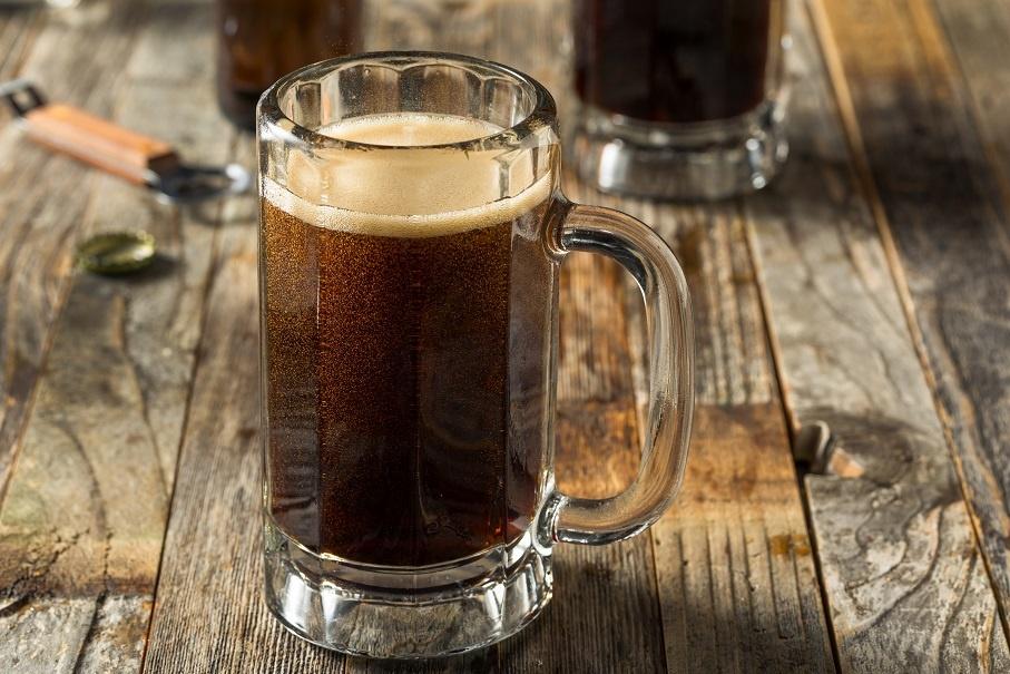 домашнее пиво из черного ржаного хлеба