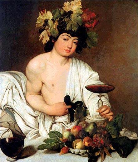 фото бога виноделия Диониса