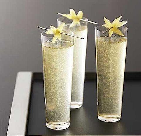 фото водки с шампанским - северное сияние