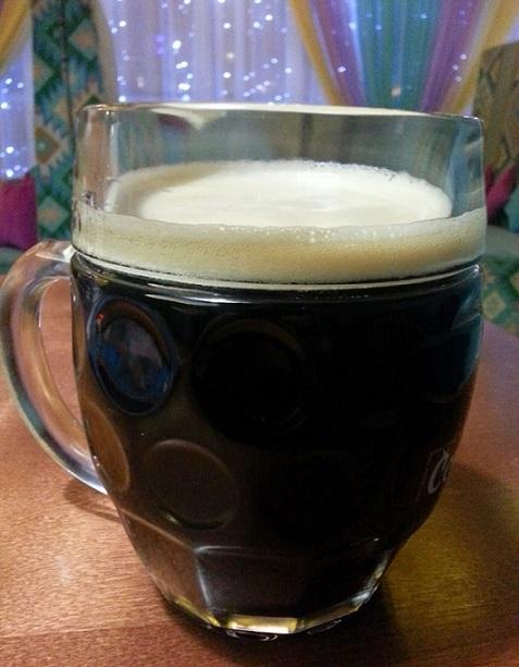 фото самодельного пива из черного хлеба