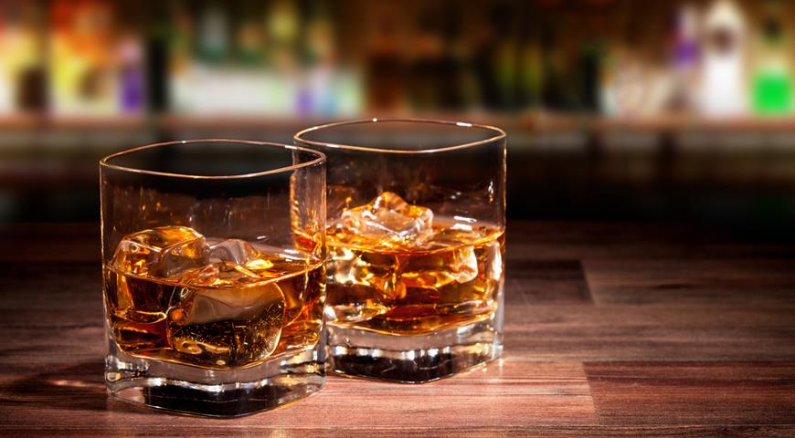 фото виски холодной фильтрации