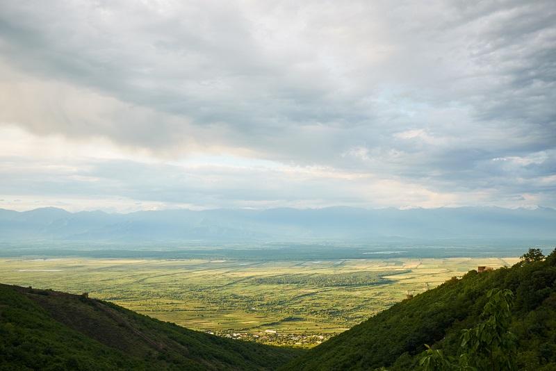 фото алазанской долины
