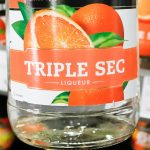этикетка апельсинового ликера Трипл Сек