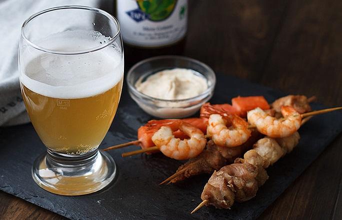 чем закусывать японское пиво