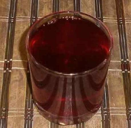 фото готового домашнего вина из йошты