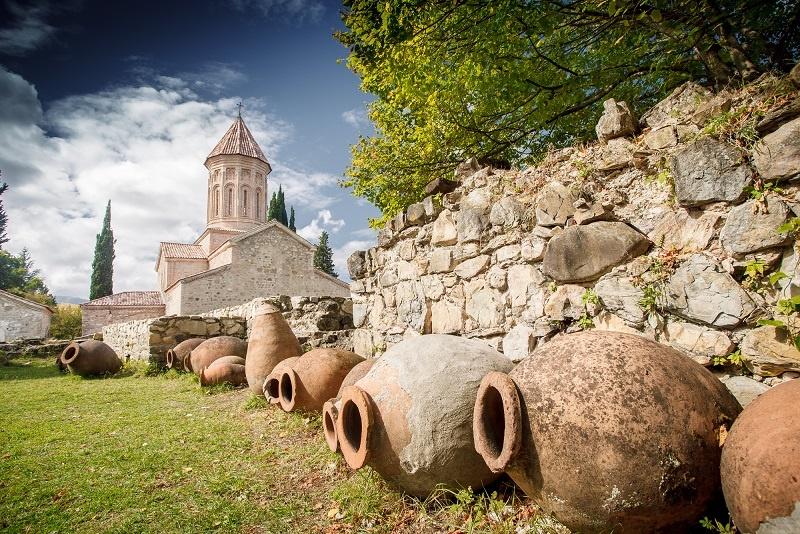 как делают вино Алазанская Долина
