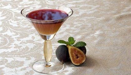 фото фигового ликера (плодов инжира)