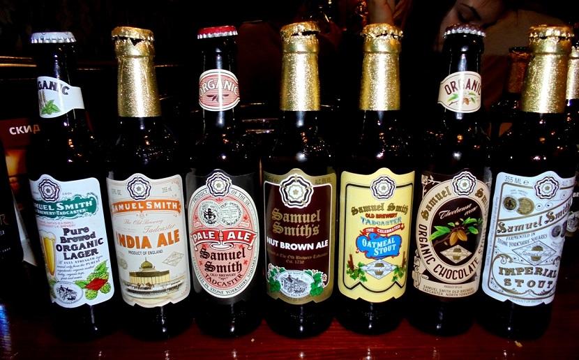 фото марок английского пива