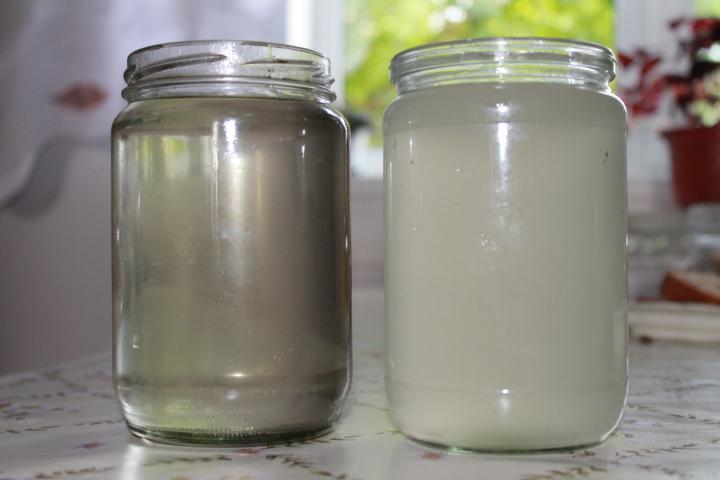 результат очистки сахарной браги лимонной кислотой фото