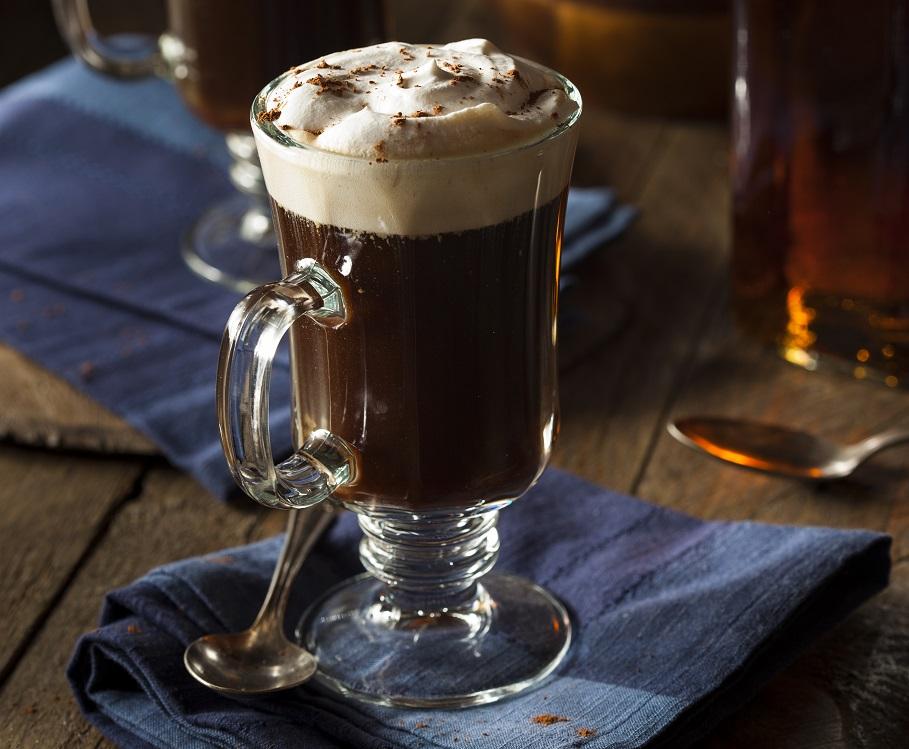 фото правильного ирландского кофе