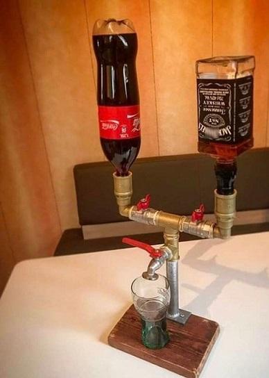 фото устройства для смешивания виски с колой