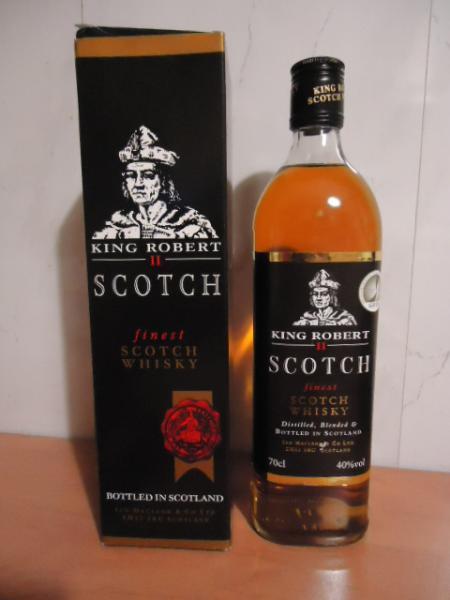 фото бутылки виски король Роборт второй