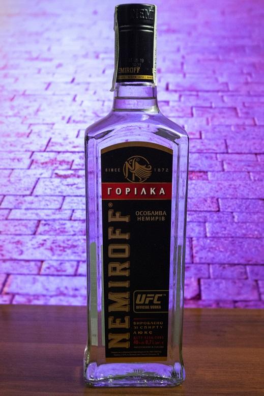 фото бутылки водки Немиров Черная