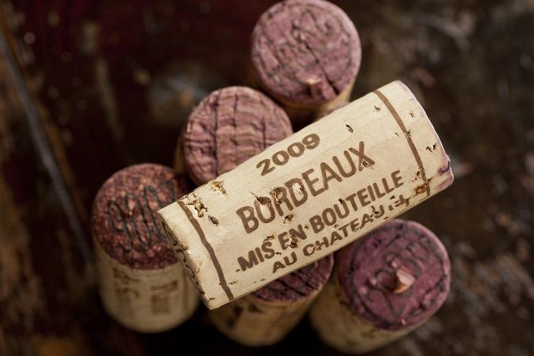 фото винной пробки Бордо