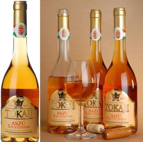 фото цвета токайских вин