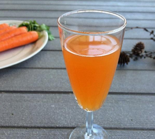 фото домашнего вина из моркови