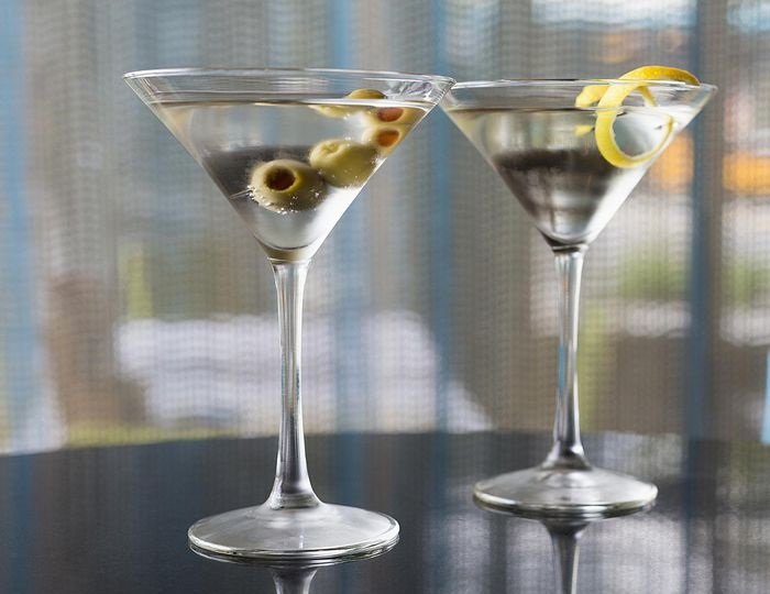 фото коктейля джин мартини