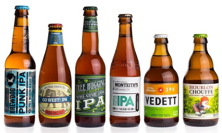 известные марки пива ИПА