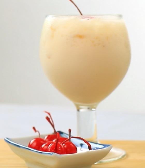 Коктейль оргазм молоко