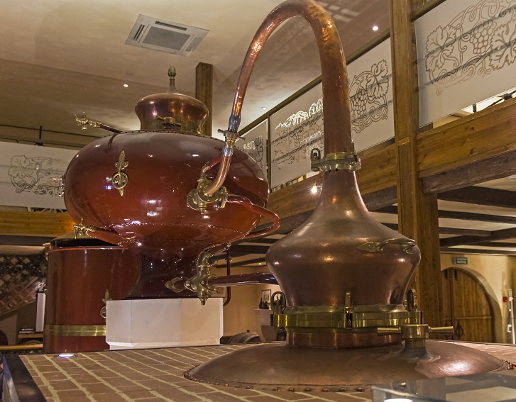 фото аламика для производства грузинского коньяка