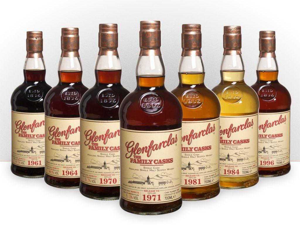 фото видов виски Гленфарклас
