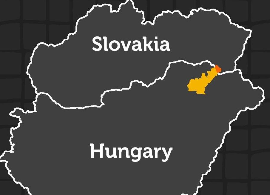 фото винодельческого региона Венгрии Токай