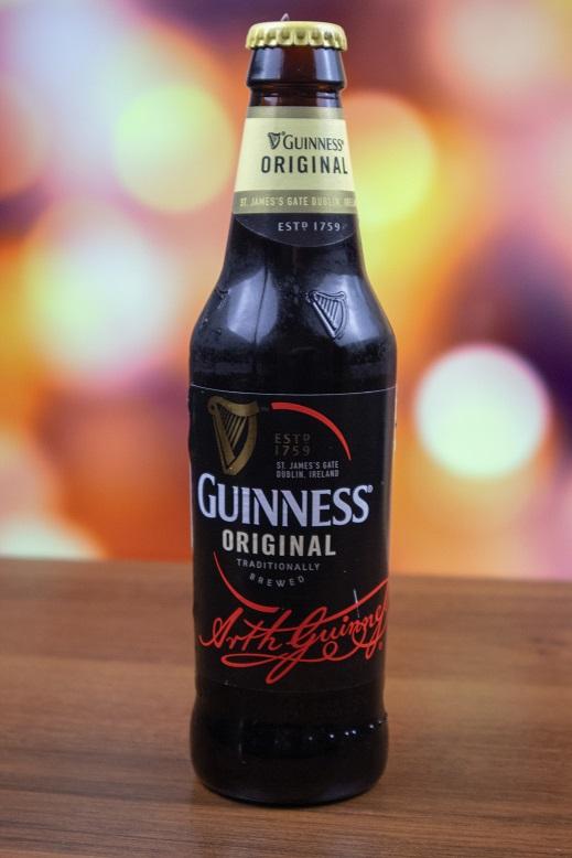фото бутылки пива Гиннес