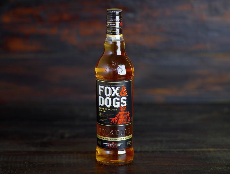 фото бутылки виски Fox & Dogs