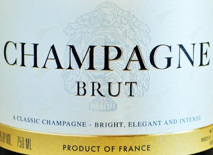 фото этикетки шампанского брют