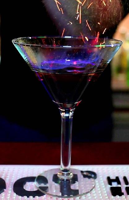 фото подоженного коктейля унесенные ветром