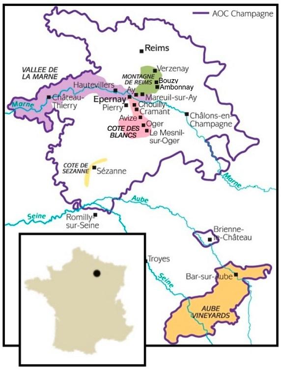 фото регионов производства шампанского