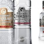 фото водки русский стандарт