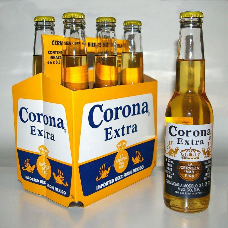 фото бутыкли пива корона