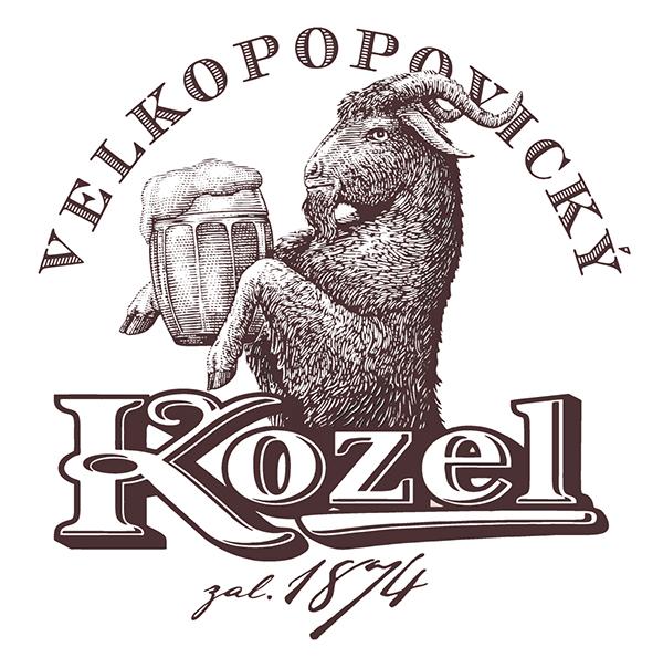 эмблема пива Велкопоповицкий козел