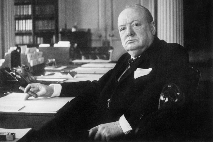 сэр Уинстон Черчилль