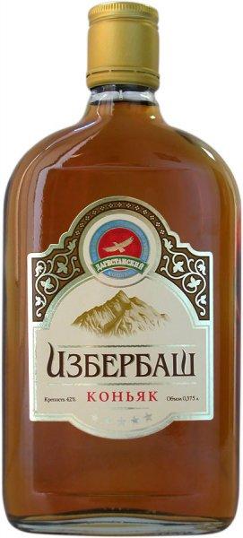 фото бутылки коньяка Изербаш