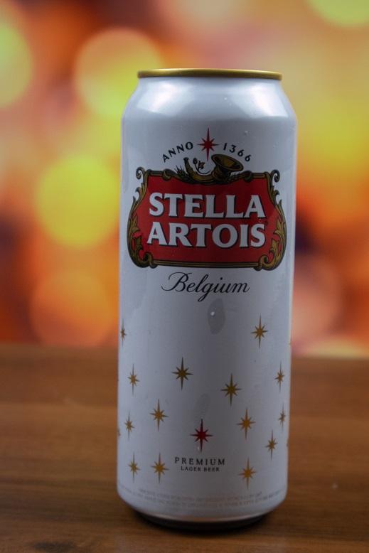 фото баночки пива Стелла Артуа