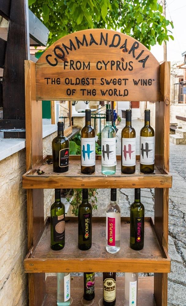 фото кипрского вина Коммандария