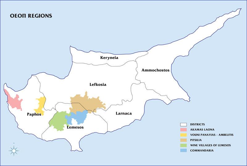 фото коммандарии на карте Кипра