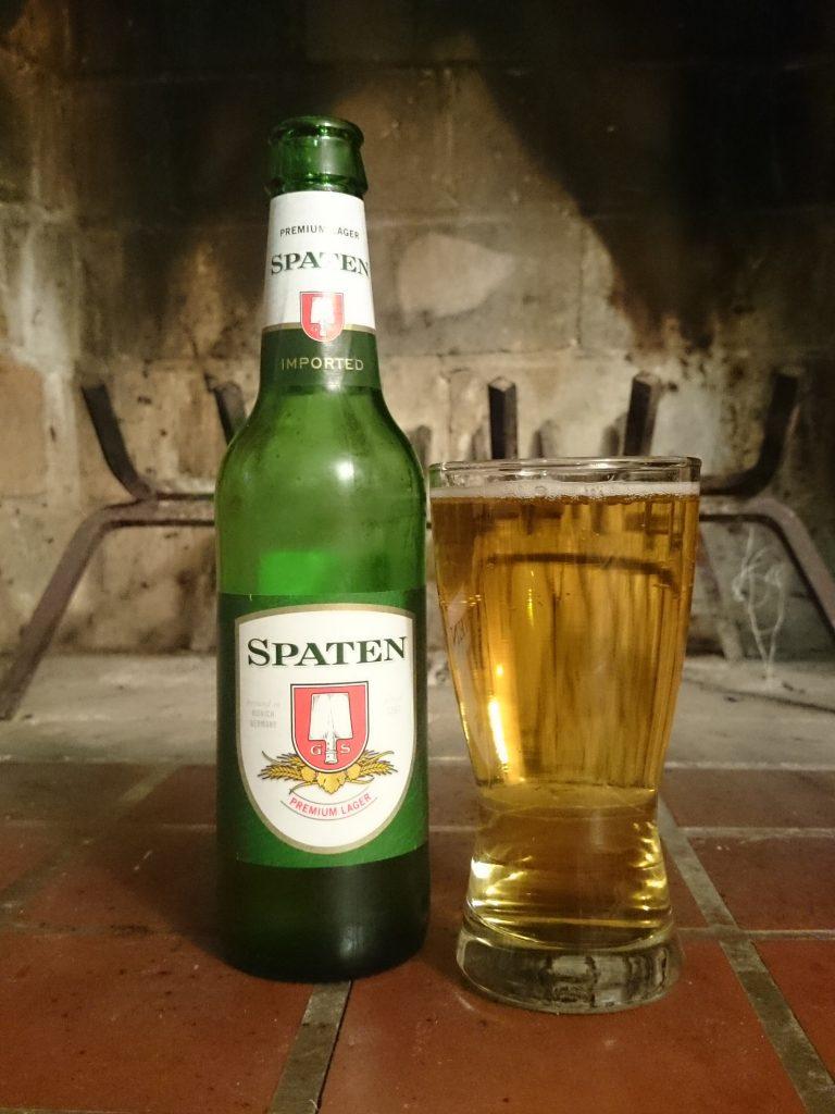 фото бутылки пива шпатен